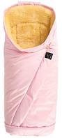 Kaiser Конверт тёплый на овчине Премиум Coosy блестящий розовый, фото 1