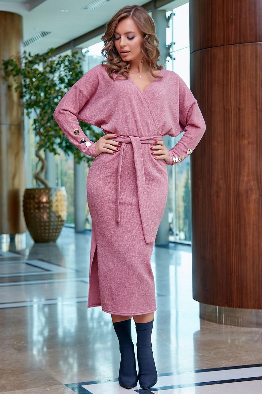 Молодежное платье 1261.3872 розовый (S-XL)