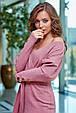 Молодежное платье 1261.3872 розовый (S-XL), фото 2
