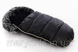 Детский универсальный зимний конверт Tuttolina Puer Black/grey
