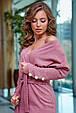 Молодежное платье 1261.3872 розовый (S-XL), фото 3