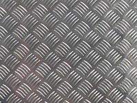 Лист алюминиевый рифлёный квинтет АД0 2,0х1000х2000мм, 2,0х1250х2500мм и 2,0х1500х3000мм