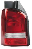 Фонарь задний для Volkswagen T5 '10- правый (DEPO) 1 дверь, светло-красный