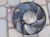 Вентилятор радиатора кондиционера для Mercedes Vito W638, 704654, 9010576, фото 2