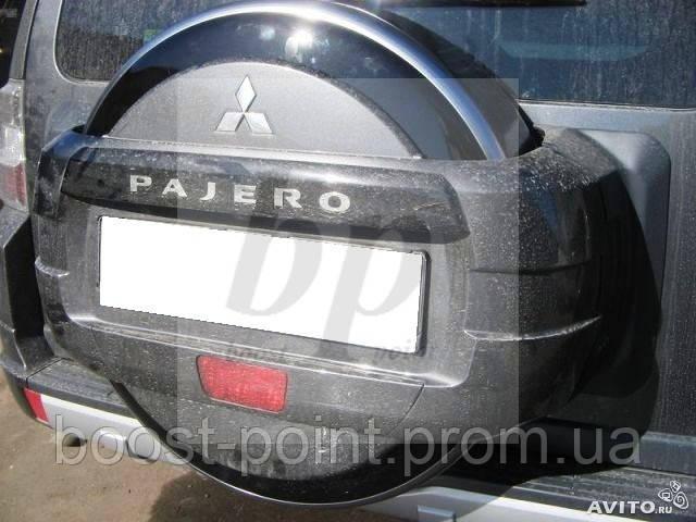 защита запасного колеса митсубиси паджеро 4