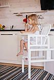 Стільчик для годування DeSon Kiddy (PUMPUH), білий, фото 4