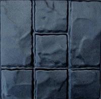 """Форма для изготовления плитки  28х28х3 """"Римский камень"""""""
