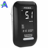 Глюкометр Gamma Diamond Prima ( Гамма ДМ Прима ) со звуковым сигналом без тест полосок в комплекте, фото 1
