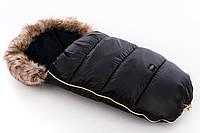 Детский универсальный зимний конверт Tuttolina Puer Black/brown