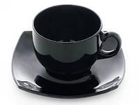 Сервиз чайный Luminarc Quadrato Black 8848 220 мл,12 предметов
