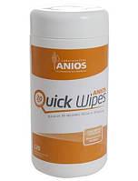 Салфетки для быстрой дезинфекции Аниос квик вайпс, № 120 шт.