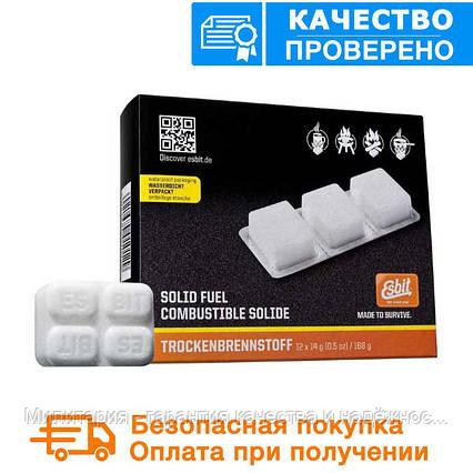 Твердое топливо Esbit (сухой спирт) таблетированное  (6 штук по 14гр ), фото 2