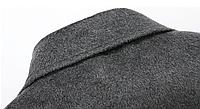 Мужское шерстяное зимнее пальто. Модель 6328, фото 4