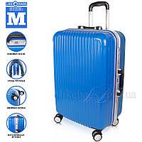 Стильный пластиковый чемодан на колесах Wanger, фото 1