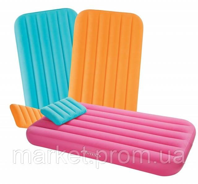 Детский надувной матрас Intex 48771 (88х157х18 см. )