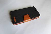 """Универсальный чехол для телефона книжка Remax 5.3-5.7"""" черный"""