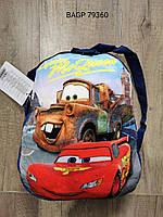 Плюшевые рюкзаки для мальчиков Cars  2-7 лет