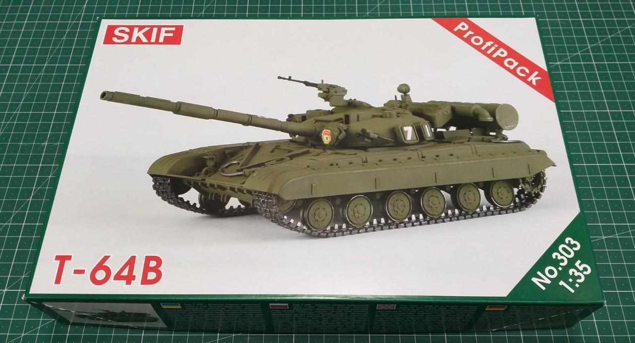 Т-64Б Советский основной боевой танк. Сборная модель танка в масштабе 1/35. MK303
