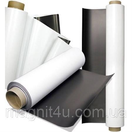 Магнитный винил с клеевым слоем (1,5 мм, рулон 620 мм х 15 м)