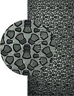 Полиуретан листовой набоечный BISSELL-WINTER, р. 200*200*6мм, цв. черный