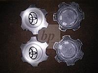 Заглушки (колпачки) в оригинальные литые диски Toyota land cruiser 120 Prado (тойота ленд крузер прадо 02-09)