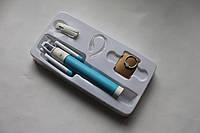 Монопод для селфи X20 + bluetooth-гарнитура + кольцо-держатель голубой