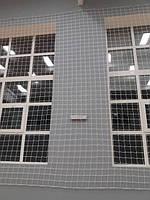 Захисно-загороджувальна сітка на вікна в спортзал р. Дніпро