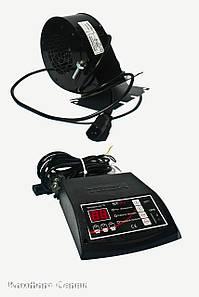 Комплект автоматики для твepдoтoпливных котлов контролер Tech ST-24 + вентилятор KG Elektronik DP-02