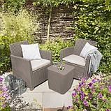 Набор садовой мебели Corona Balcony Set из искусственного ротанга ( Allibert by Keter ), фото 7