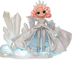 Кукла ЛОЛ Леди Кристалл ОМГ Зимнее диско светиться L.O.L. Surprise! O.M.G. Winter Disco Crystal Star