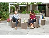 Набор садовой мебели Corona Balcony Set из искусственного ротанга ( Allibert by Keter ), фото 9