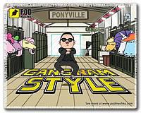 Коврики для мышки Pod Myshkou Gangnam style