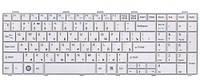 Клавиатура для ноутбука FUJITSU (LB: A530, A531, AH512, AH530, AH531, NH751) rus, белый