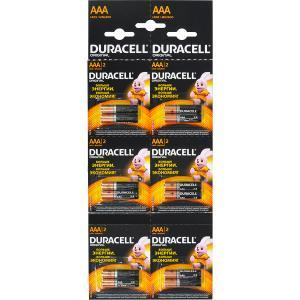 Батарейка Duracell LR-03 ААА по 12 штук на блистере