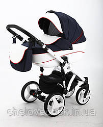 Детская коляска универсальная 2 в 1 Adamex Encore X8 (Адамекс, Польша)
