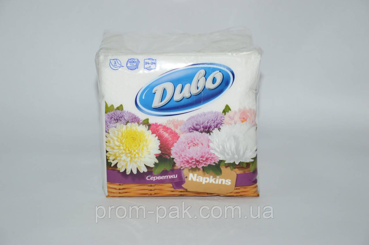 Бумажные салфетки Диво 100 шт