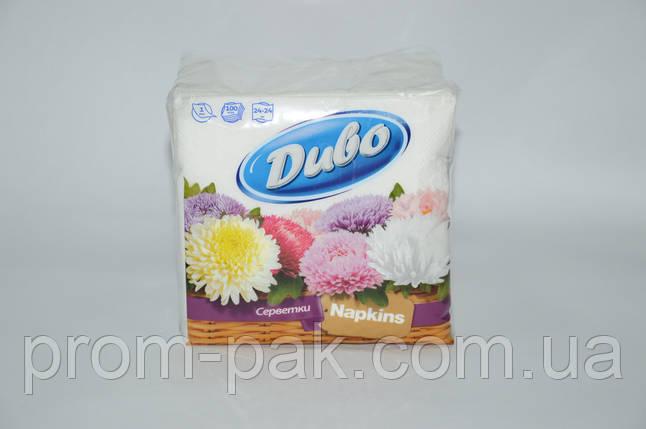Бумажные салфетки Диво 100 шт, фото 2