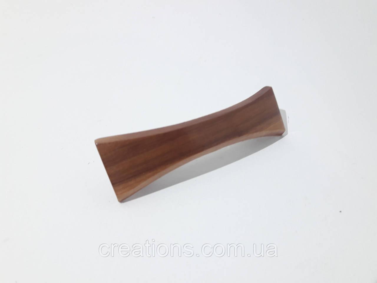 Заколка деревянная 0061