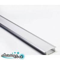 Профиль алюминиевый врезной неанодированный. Алюминиевый профиль., фото 1