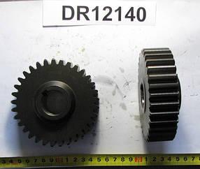DR12140, Шестерня (Z=33; M=3) цилиндрическая редуктора измельчителя