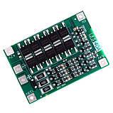 Контроллер заряда - разряда 3-х Li-Ion аккумуляторов с балансиром, 40А, 18650, BMS 3S, фото 2