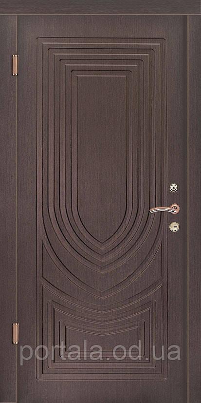 """Входная дверь для улицы """"Портала"""" (Люкс Vinorit) ― модель Турин 2, фото 1"""