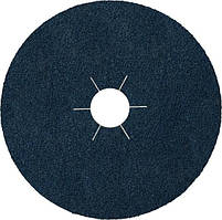 Круг шлифовальный, фибровый 115х22мм, CS 565, металл нержавейка, синий, P60 Klingspor