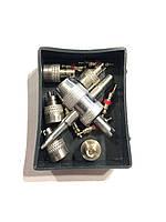 Ремкомплект золотников  01  (5 золот- в .5 завод.колпачков.и ключ )