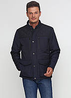 Мужская демисезонная куртка Man's Wear K-143 (50) темно-синяя