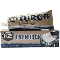 "Полироль кузова воск  120g  ""K2"" EK0011 Tempo Turbo   (24шт/уп)"