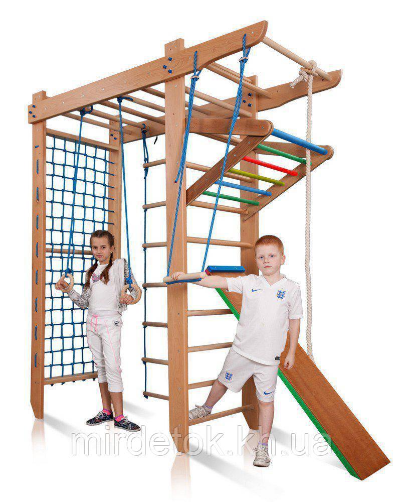 Детский спортивный уголок с рукоходом  «Гимнаст 5-240»  SportBaby