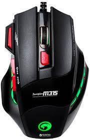 Оптическая игровая мышь Б/У Marvo Scorpion M315 (7 кнопок, 1600 dpi, подсветка), фото 2
