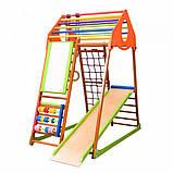 Детский спортивный комплекс для дома KindWood Plus  SportBaby , фото 2