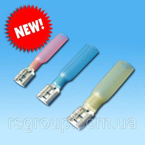 Коннектор RS (мама)  термоусаживаемый (опрессовка) (в ассортименте)